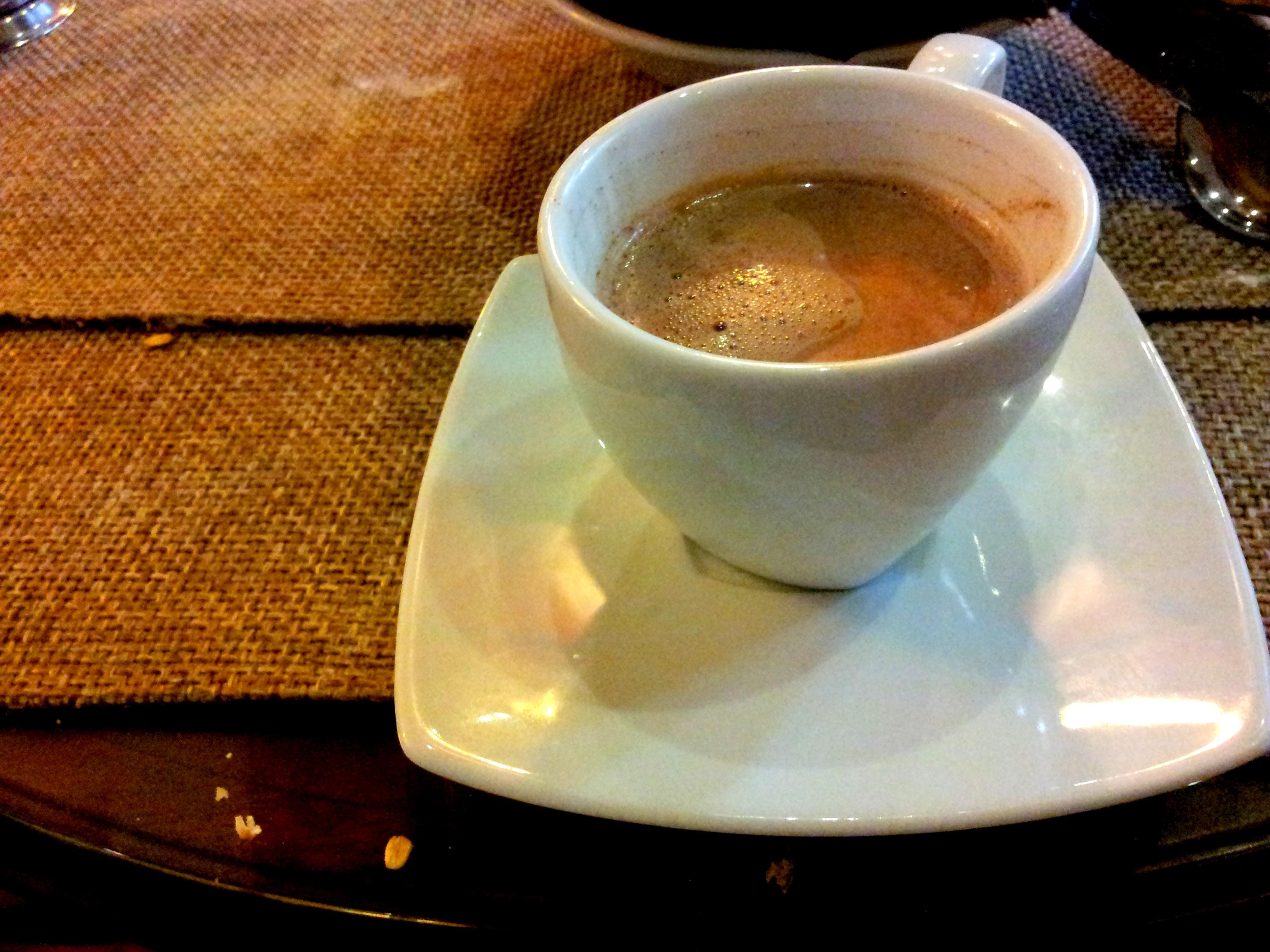 A delicious cup of hot chocolate, Pastelería la Florida