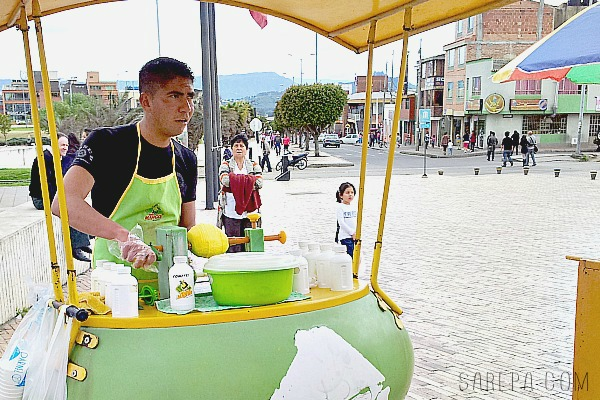 Street Vendor in Colombia