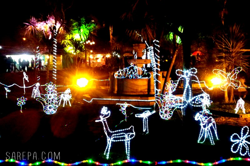 parque nacional christmas in colombia bogot christmas lights